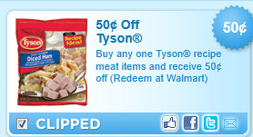 Tyson Recipe Meat Coupon