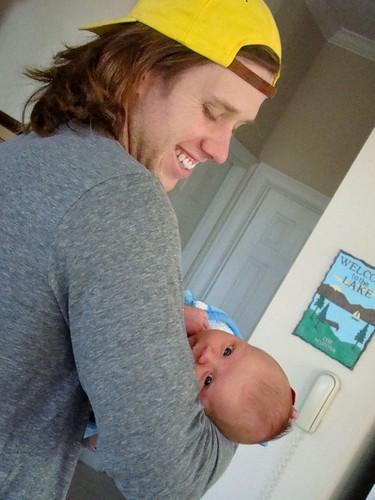 mikey & baby E