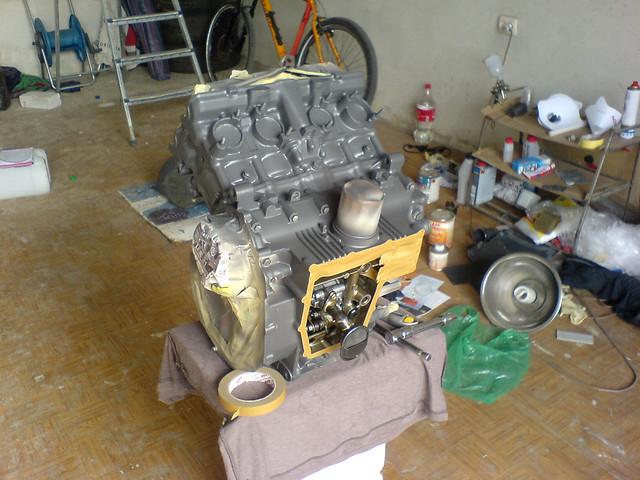 мотор  honda CB-1