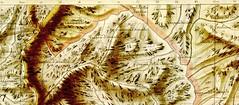 Plan Terrier  : découpage de la partie Haut-Cavu NW du Rouleau 33