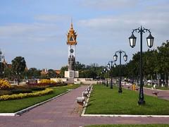 Cambodia-Vietnam monument (Phnom Penh, Cambodia 2011)