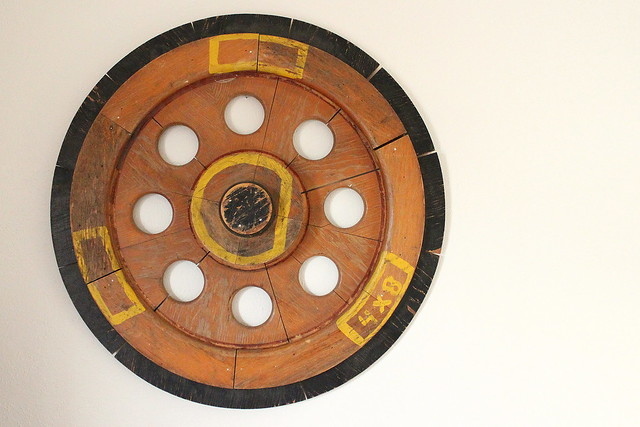 Train Wheel Wall Art