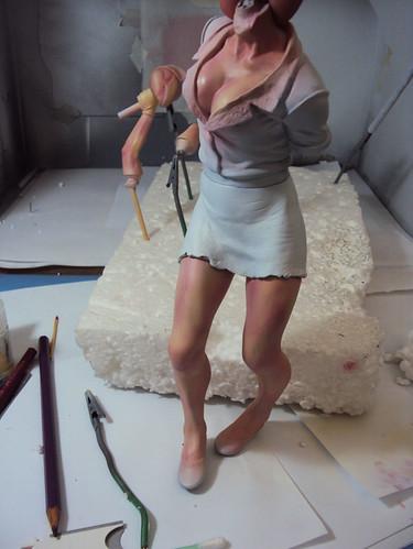 Bubblehead Nurse by Camila.Brasil
