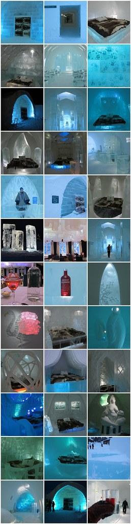 Ice Hotel Mosiac