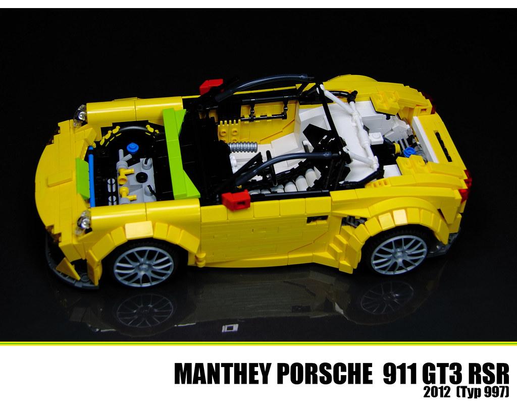 lego porsche 911 gt3 rsr a photo on flickriver. Black Bedroom Furniture Sets. Home Design Ideas