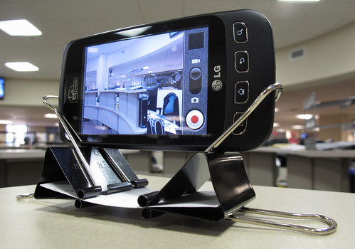 DIY Cell Phone Camera Stand