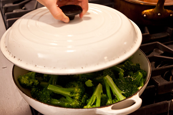 broccoli cooked forever