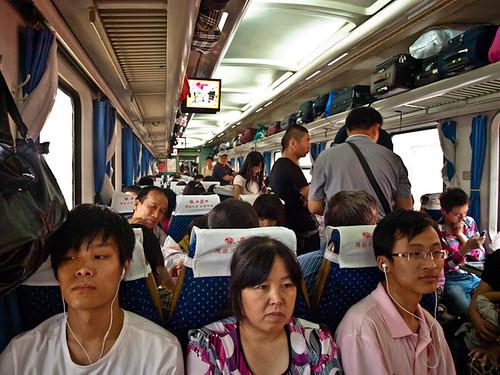 Hard seat, tren China