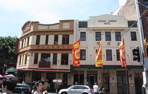Covent Garden Hotel, Sydney, NSW.