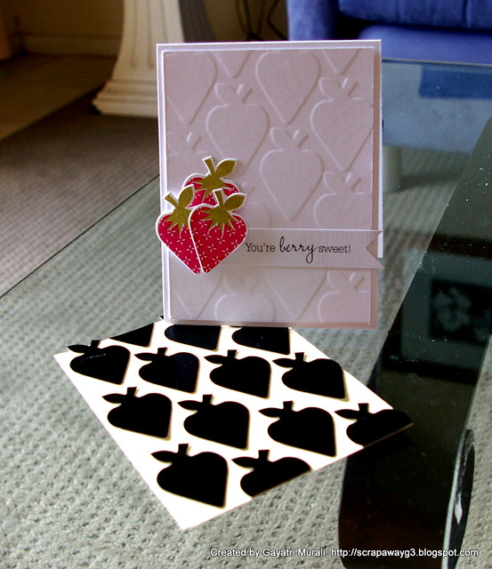 Berry Sweet card