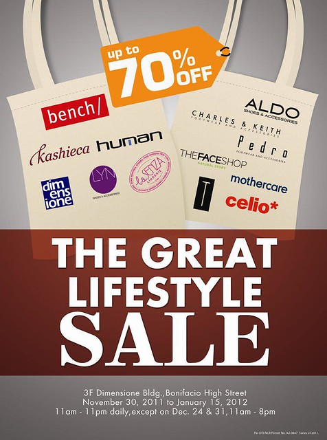 great lifestyle sale (bench & co.)