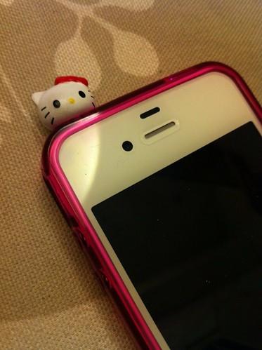 Zoe's iPhone 4S 的耳機塞
