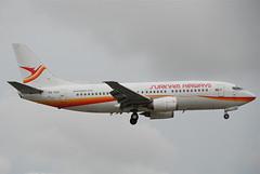 Surinam Airways Boeing 737-300; PZ-TCO@MIA;17.10.2011/626kq