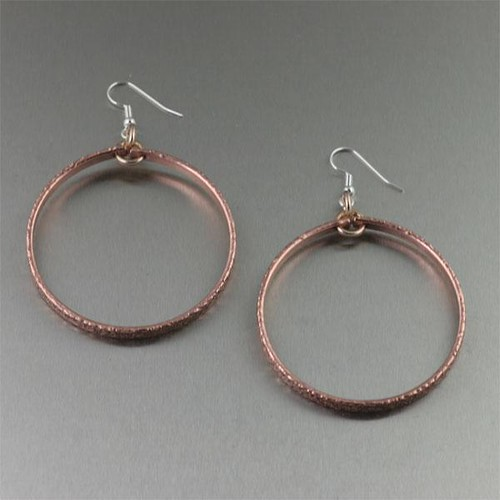Personalized gold hoop earrings hoop earrings banks for San francisco handmade jewelry