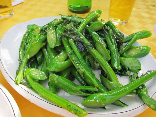 Stir Fried Gai Lan with Garlic