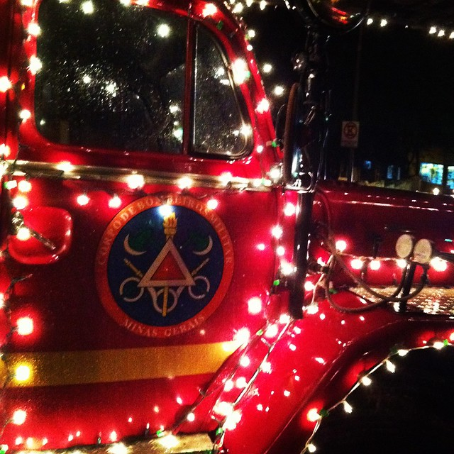the fireman truck christmas flickr photo sharing. Black Bedroom Furniture Sets. Home Design Ideas