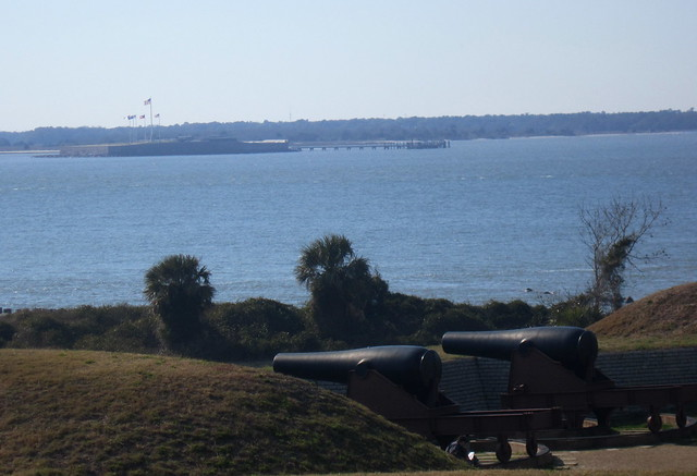 View of Fort Sumter