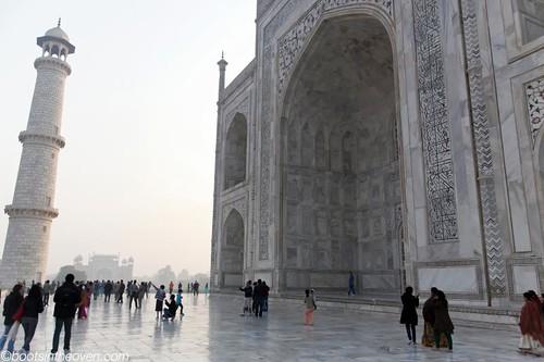 Closer to the Taj