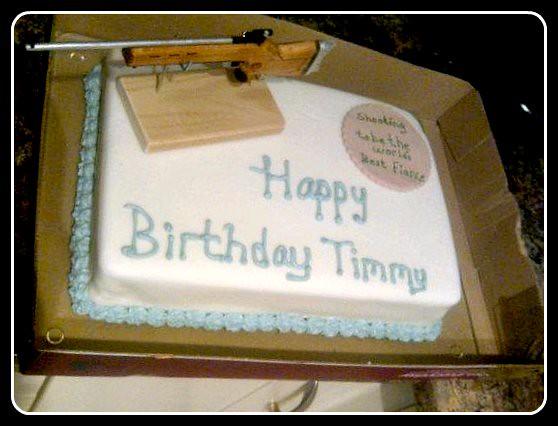 Happy Birthday Harrison Cake