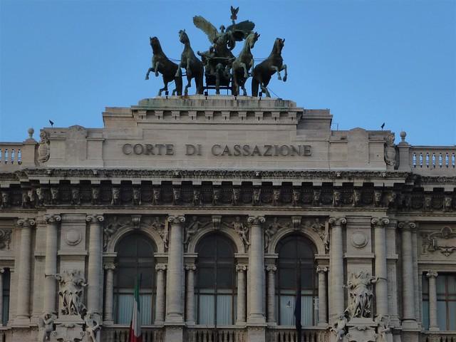 Corte Di Cassazione - Horses, Roma