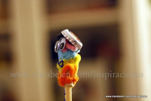 Manualidades infantiles: decorar lápices para niños