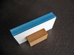 Edge Coloring & Letterpress Card
