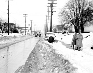 Snow on 23rd Avenue East, 1943