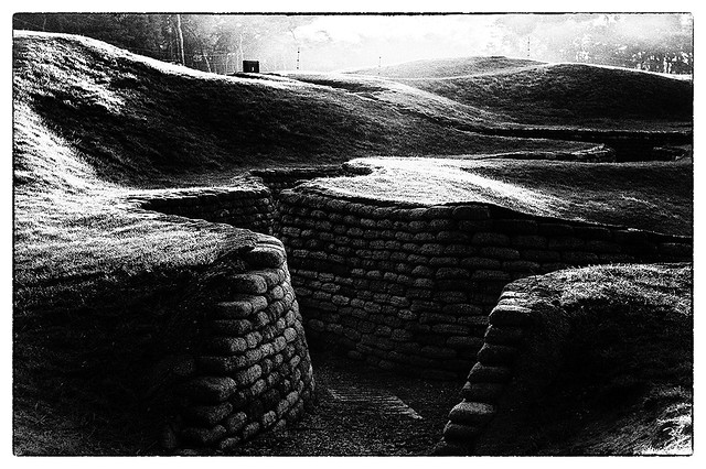 Trenches of the Vimy ridge