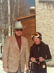 Nanny and Pappy Vintage Ski