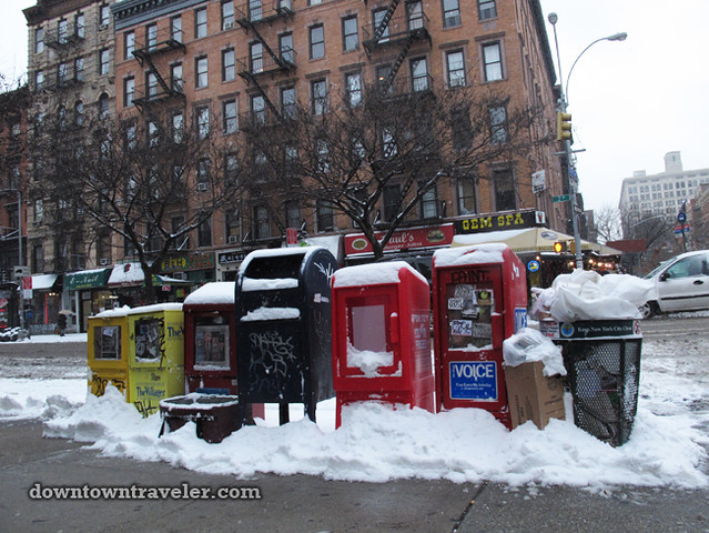 NYC Snowstorm East Village Jan 2012_1