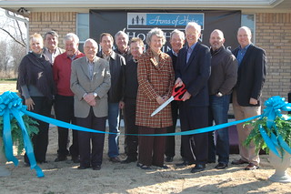 Hope Haven Family Living Homes Ribbon Cutting & Dedication Ceremony
