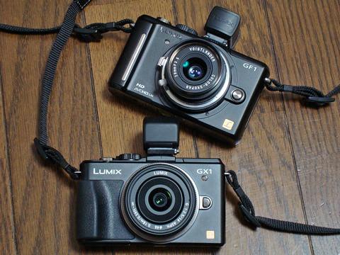 Panasonic LUMIX DMC-GX1を買った