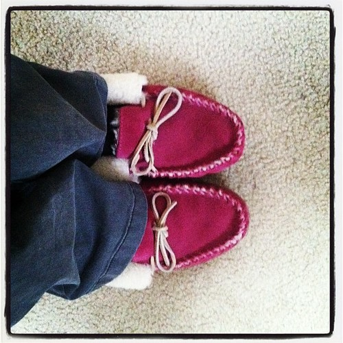 "#janphotoaday Jan 22 ""your shoes"""