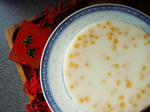 Split Pea Coconut Pudding 椰汁馬荳糕
