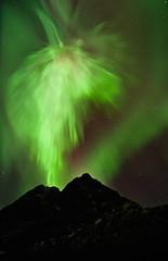 Northern lights on Kvaløya 2012-01-23