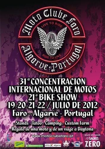 Concentración Motera Faro 2012