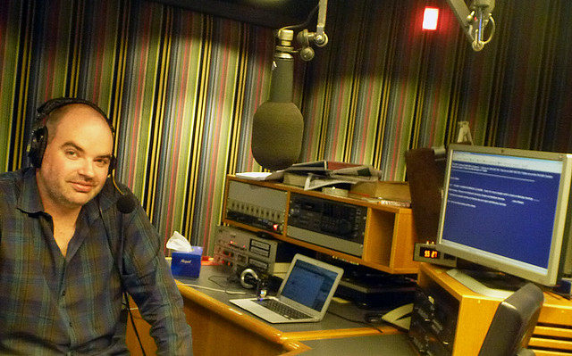 Evenings presenter for ABC Radio NSW and ACT, Dominic Knight - Behind the Scenes
