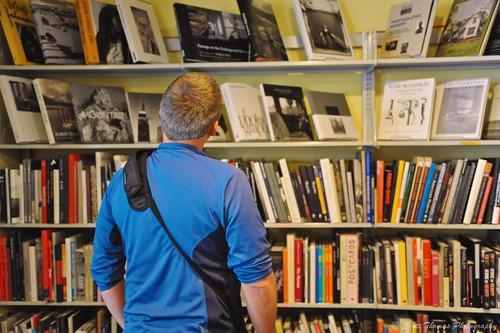 travel vacation people house newyork man history shop museum person photo store nikon looking books rochester shelf shelves browsing georgeeastman d700 yourphototips scottthomasphotography afsnikkor28300mmf3556gedvr