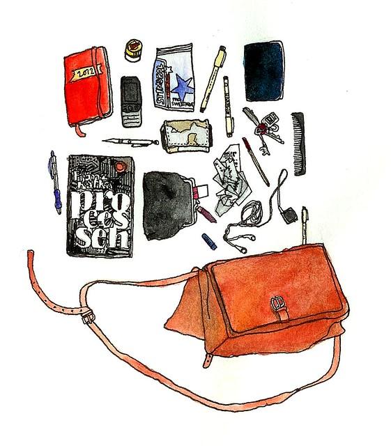 i min väska