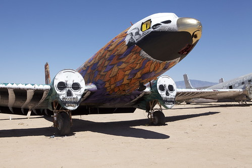 "The Bone Yard Project - Tucson , Arizona 2011 by ''Nunca"""