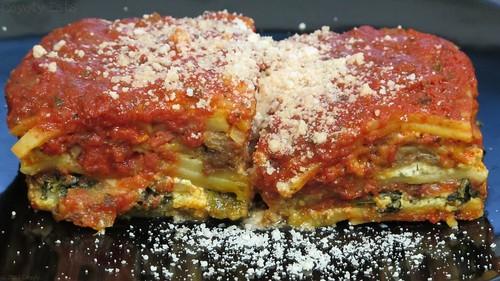 Veggie lasagna by Coyoty