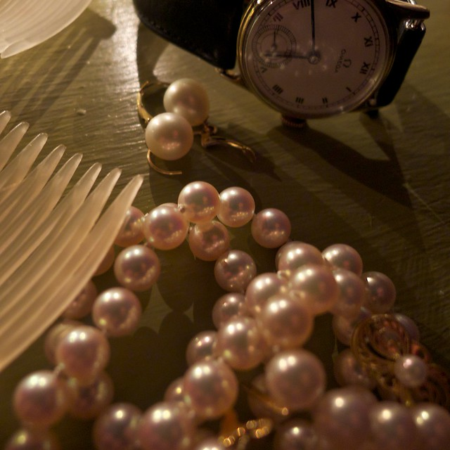 Pearls Waiting