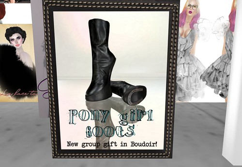 Pony Girl Boots Vita's Boudoir (only members group) by Cherokeeh Asteria