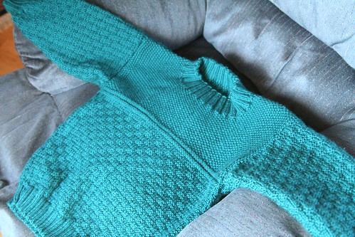 Grandma's Latest Sweater for Lucas