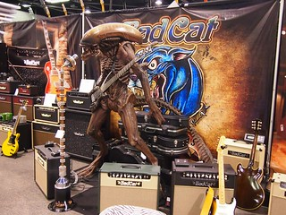Bad Cat Booth, Alien Playing Guitar