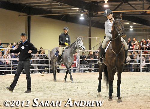 Retired Racehorse Training Project Trainer Challenge at the MD Horse World Expo