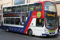 15 SP54 CGY Volvo B7TL Wright Eclipse Gemini.High Street DUNDEE