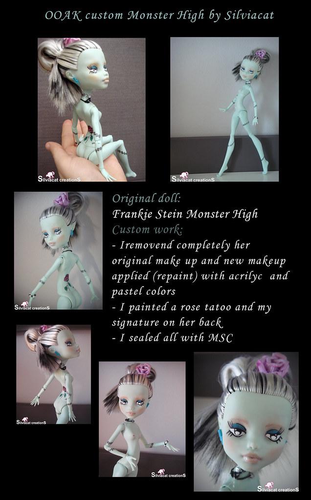 Frankie Stein custom by Silviacat