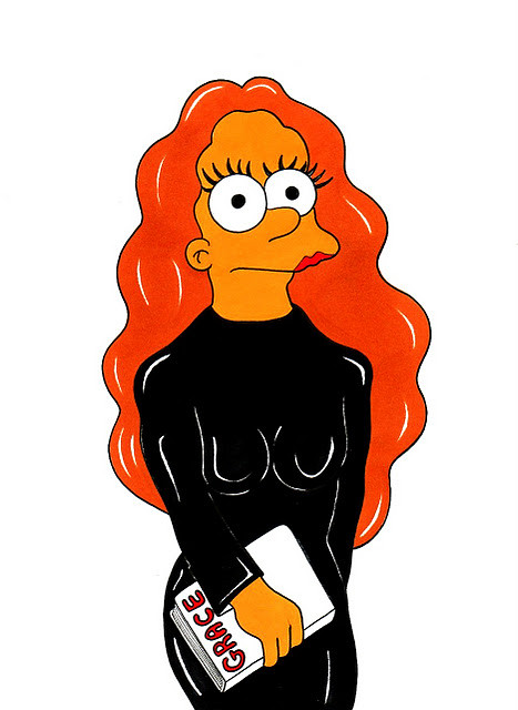 Marge Simpson Loves Grace Coddington