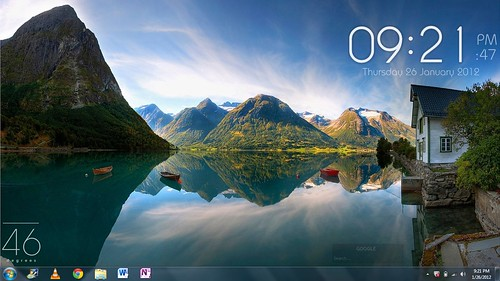 desktop by zulfaqar